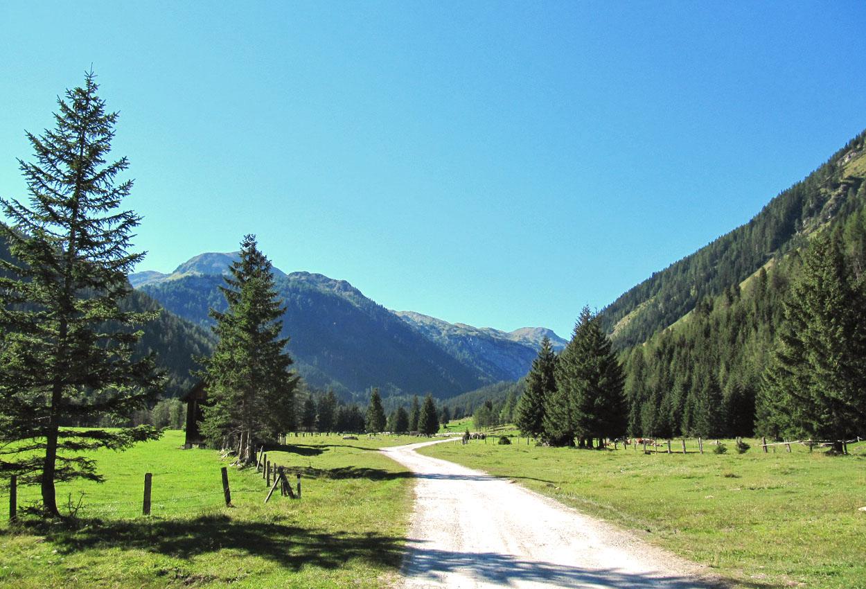 Wandern Weißpriach Wirpitschsee Longa